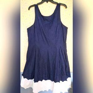 Blue Tommy Hilfiger Dress w/ Pocket